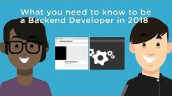 What You Need to Know to be a Backend Developer in 2018