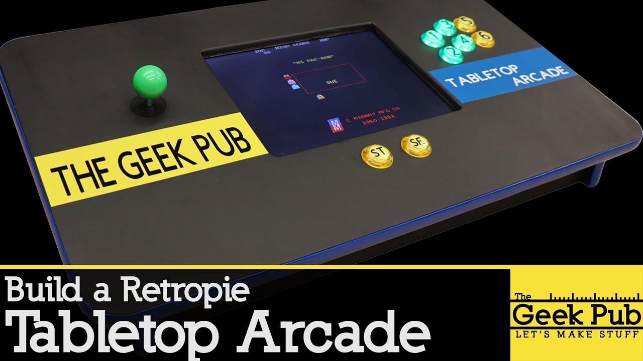 Tabletop Arcade With Retropie Youtube