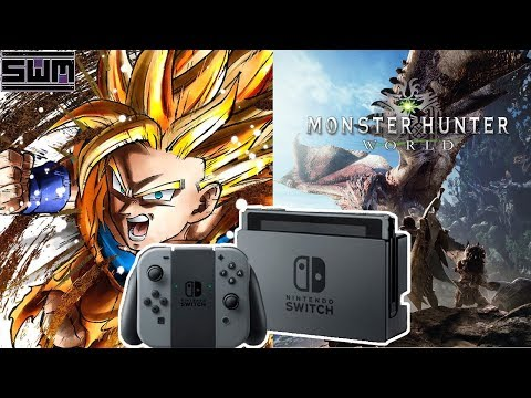 Nintendo Switch And Monster Hunter World Top A Massive January NPD For Gaming