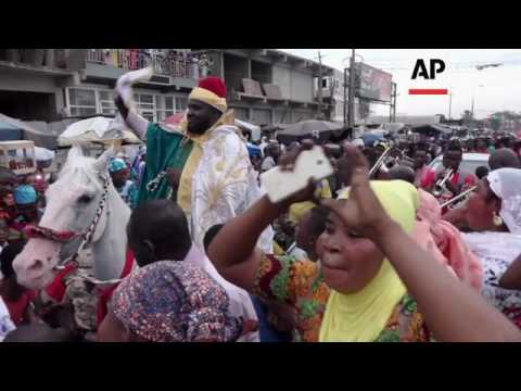 Prayers and Parades at Eid in Accra