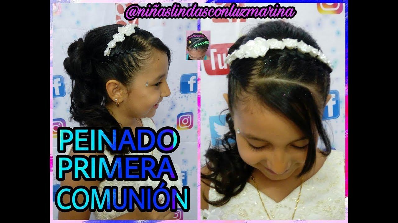 Peinados para first communion