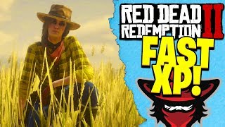 HOW TO GET FAST XP IN RED DEAD REDEMPTION 2 ONLINE | RDR2 Fast XP Tips!