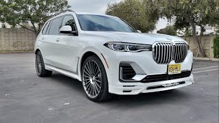 2021 Alpina XB7 Walkaround + Exhaust (No Talking)(ASMR)