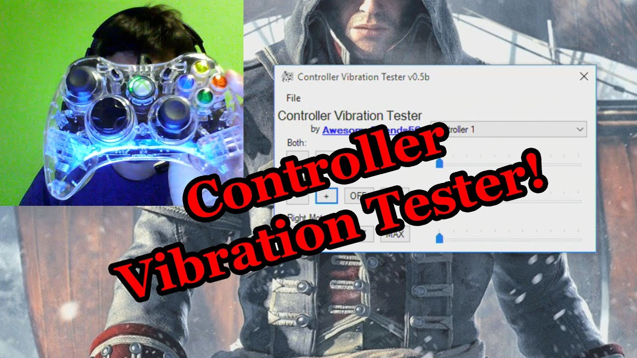 Introducing Controller Vibration Tester v0 5b!