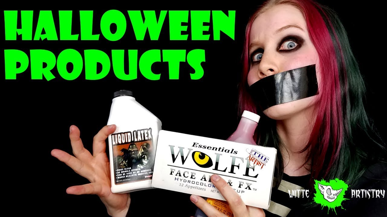 ✅Strangest HALLOWEEN MAKEUP PRODUCTS Video You Will Ever See (Ode ...