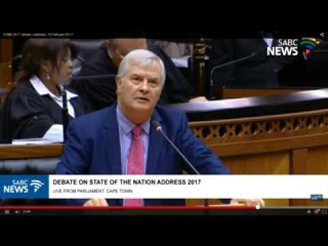 Debate on pres. Zuma's state of the nation address - 15 Feb 2017
