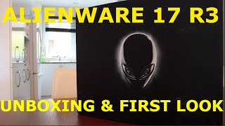 Alienware 17 R3 2015: Unboxing & First Look