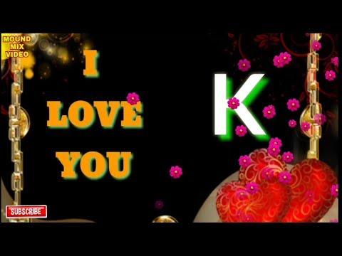 K Letter whatsapp status. Letter Good Morning wish status video...New status...💐