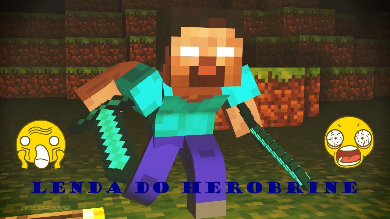 O Herobrine existe mesmo? | Minecraft Sem Limites