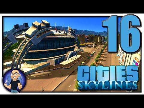 SPORTS STADIUM, BIKE PATHS, & HIGH DENSITY RESIDENTAL ZONES! - Cities Skylines Gameplay S2E16