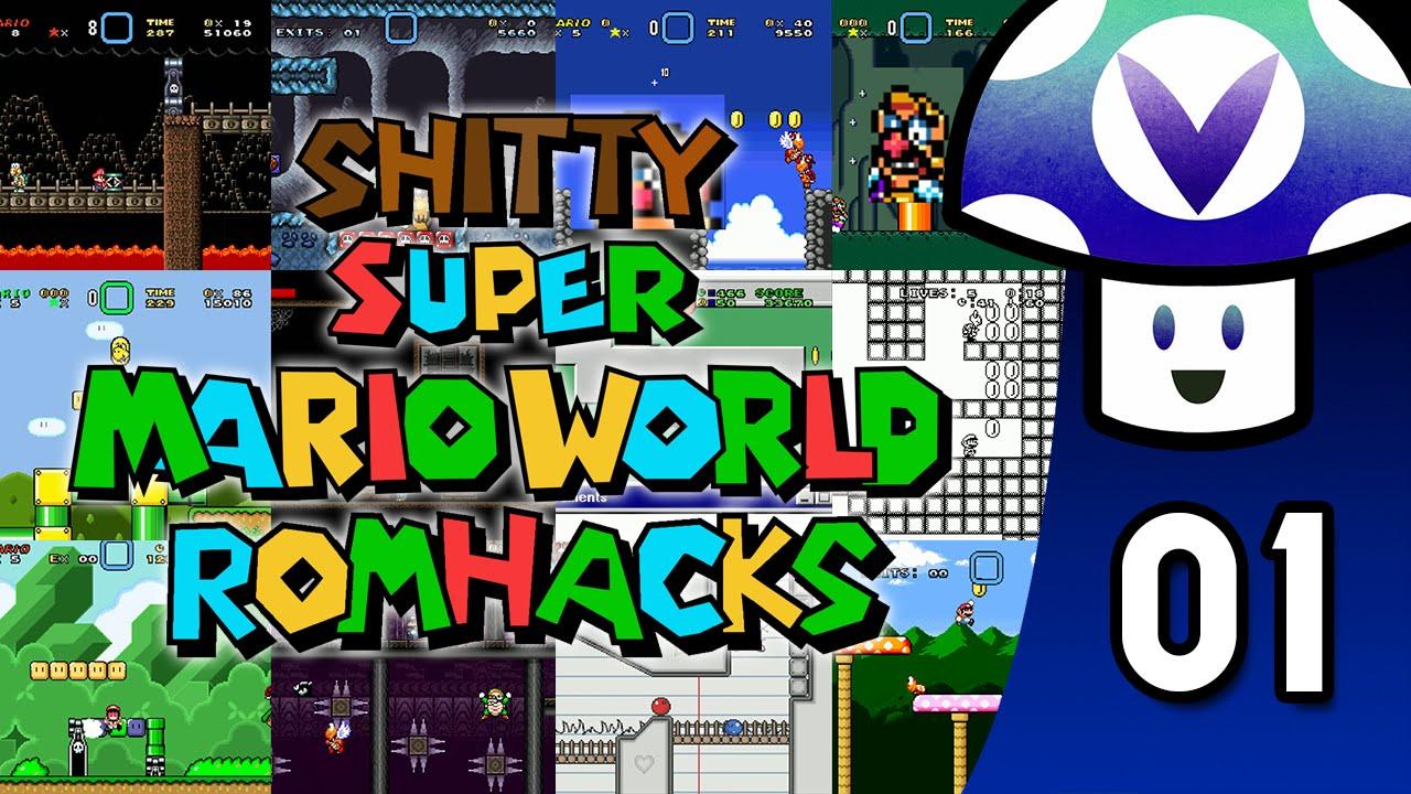 super mario world romhacks