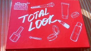 Коробочка TOTAL LOOK Allure box - ЛУЧШАЯ!!! Limited edition! Unreal cool beauty box!