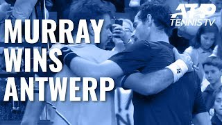 Championship Point: Andy Murray wins 2019 European Open!
