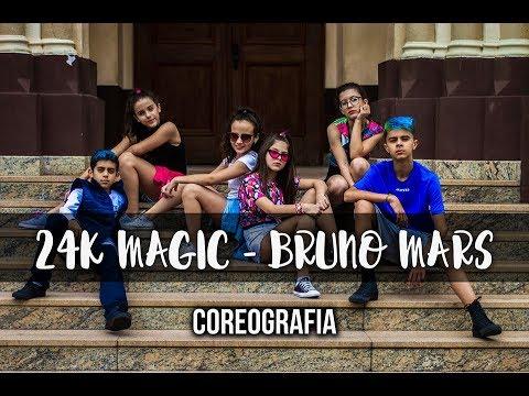 24k Magic - Bruno Mars  Coreografia Gibson Moraes