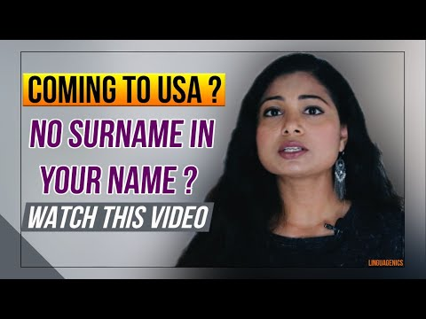 🔥 No Last Name | Surname | Family Name | In Passport | 2019