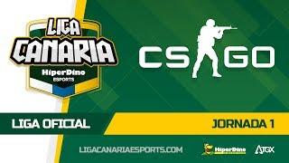 Highlights I Jornada de Liga Oficial de CSGO en la LCES