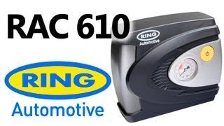 Ring RAC610 — автомобильный компрессор — видео обзор 130.com.ua