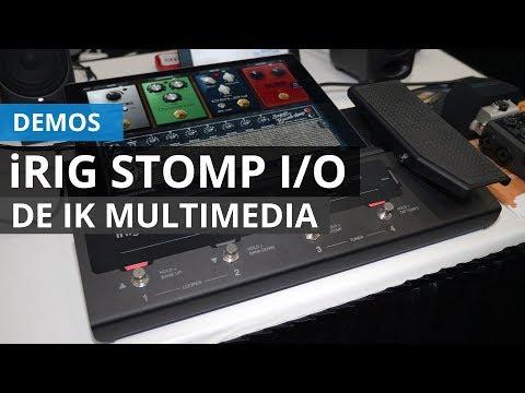 Demo de IK Multimedia iRig Stomp I/O