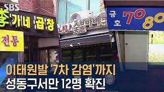 이태원발 '7차 감염'까지…서울 성동구서만 12명 확진…