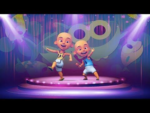 Upin Ipin Baby Shark Challange Dance Remix Parody Gokil Keren Banget !!!