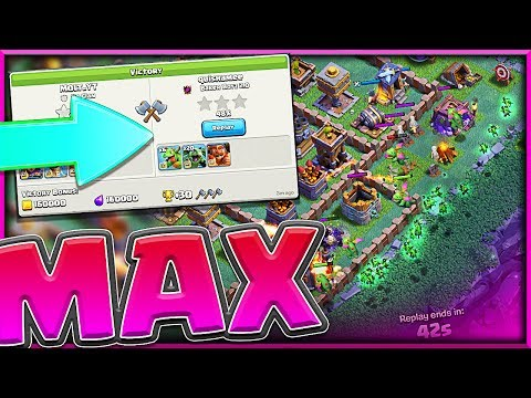 MAX BUILDER HALL!! • This Clash of Clans Base is WINNING!