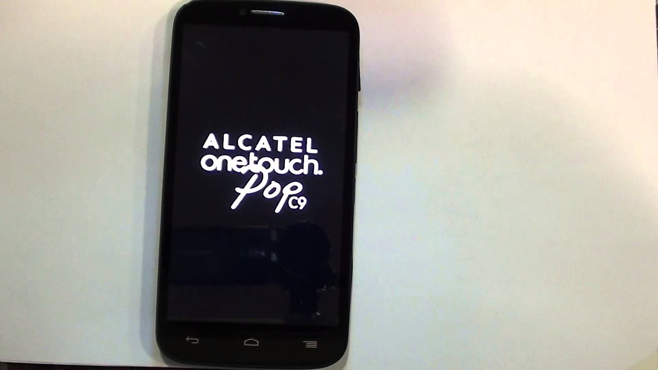 Alcatel One Touch Pop C7 HARD RESET - Restaurar / Resetear - Quitar Patron  HD