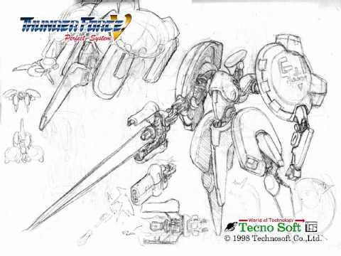 Thunder Force 5 Boss Themes: Guardian's Knight