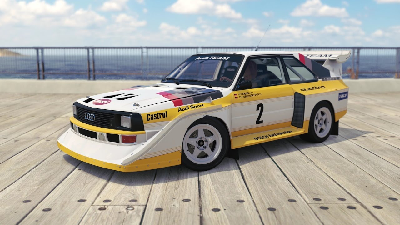 Forza Horizon 3 1986 Audi 2 Audi Sport Quattro S1 Youtube