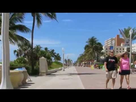 Hollywood Beach Broadwalk - Southern End
