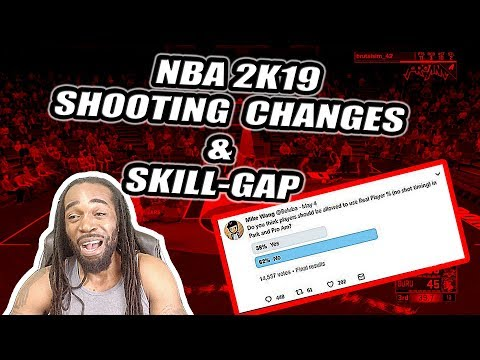 NBA 2K19 SHOOTING CHANGES & SKILL-GAP | FORTNITE CHALLENGE TUTORIAL COMING