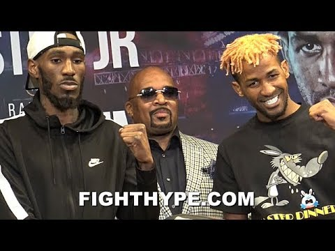 ROBERT EASTER JR. VS. RANCES BARTHELEMY FINAL PRESS CONFERENCE AND FACE OFF