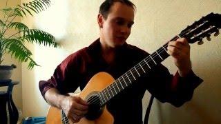 Только раз...  Русский романс на гитаре.