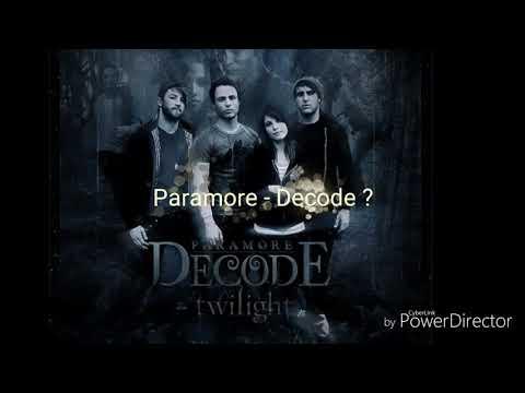 Paramore - Decode or Godsmack - Bulletproof?
