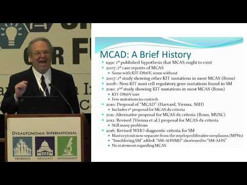 Mast Cell Activation Syndrome & Dysautonomia - Dr. Lawrence Afrin