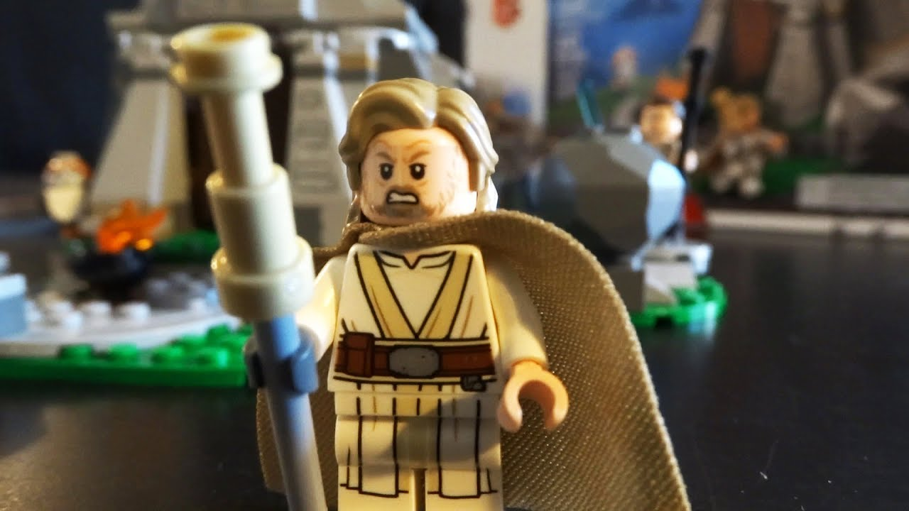 LEGO STAR WARS Rey MINIFIG new from Lego set #75200 New Ahch-To Island
