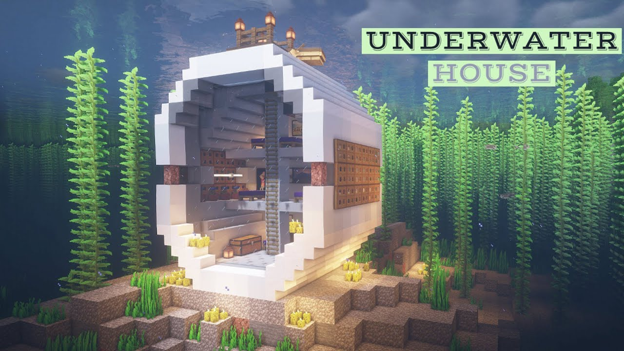 UNDERWATER SURVIVAL HOUSE Minecraft Map