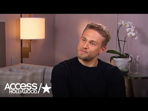 Charlie Hunnam On How He Landed The Lead Role In 'King Arthur' | Access Hollywood