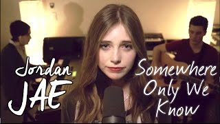 Download Keane - Somewhere Only We Know (Cover by Jordan JAE - Live @ Slumbo)