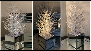 Modern Glam || Crystal LED Lighted Tree