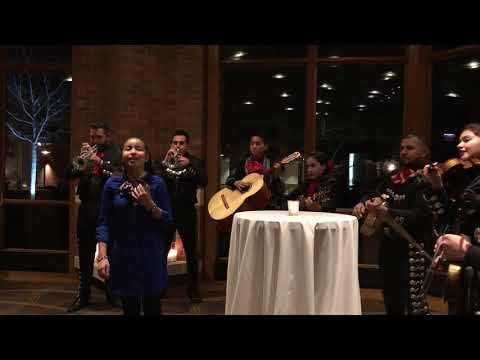 Felix Rodriguez Wedding video cousin from California Singing with Mariachi Band