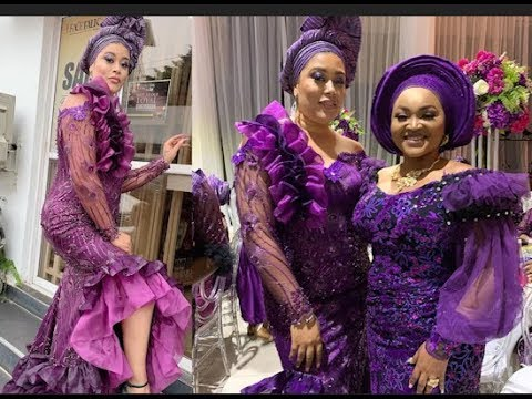 Download Too Hot! Actress Mercy Aigbe, & Adunni Ade Set young couple's wedding On Fire With Their Outfit