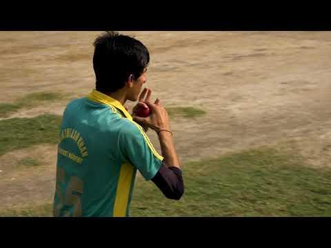 Off Spin bowling Jawad Ali from Peshawar Pakistan