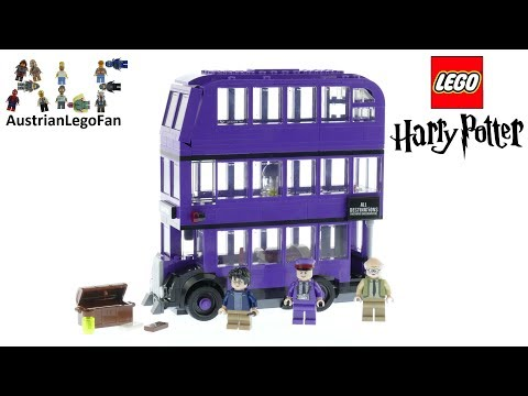 Lego Harry Potter 75957 The Knight Bus Speed Build