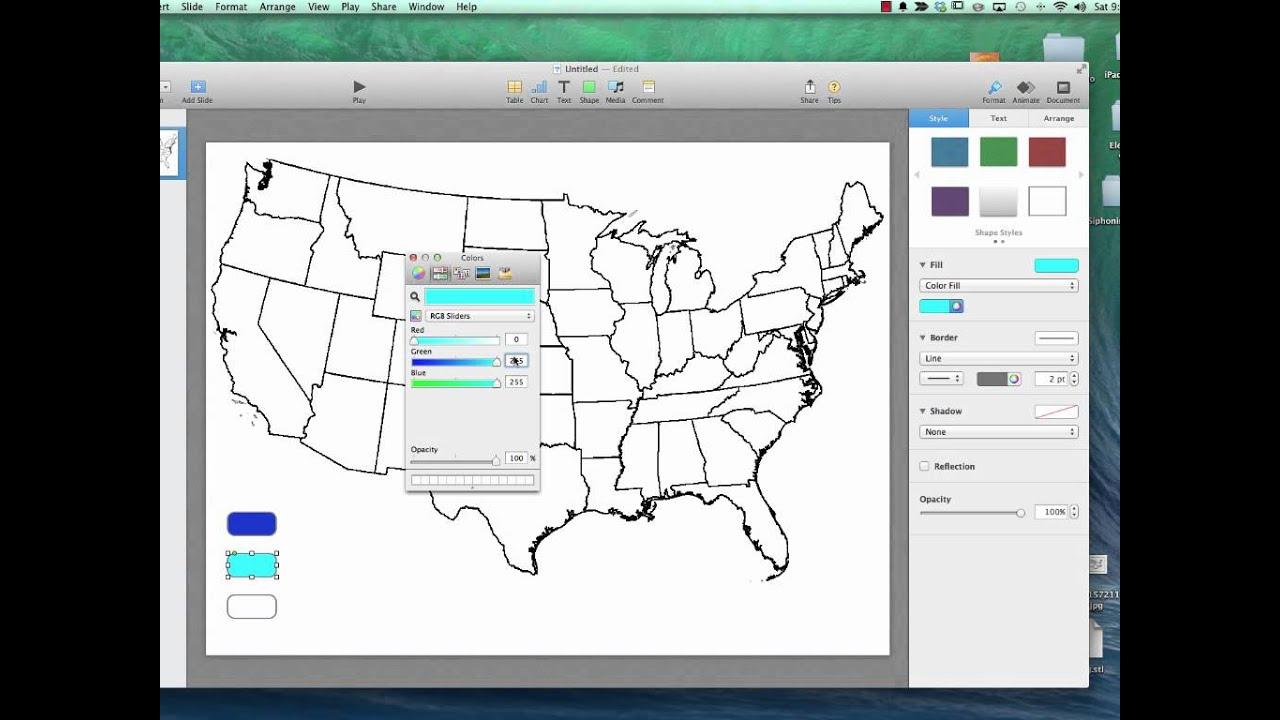 Keynote For Interactive Maps Widget YouTube - Us map keynote