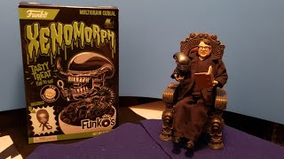 FunkO's Xenomorph Cereal Taste Test and Review (Alien Day) 2019