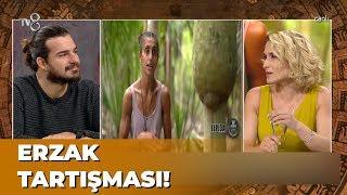 Türk ve Yunan Yarışmacıların Erzak Tartışması - Survivor Panorama 62. Bölüm