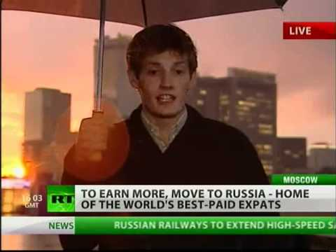 Expats in Russia are the richest in the world!