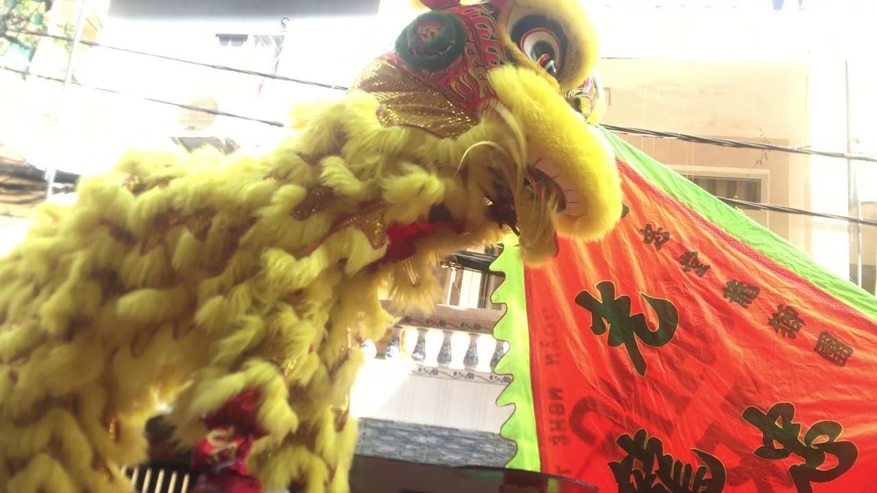 Lân Lên Mai Hoa Thung Part 1 - YouTube