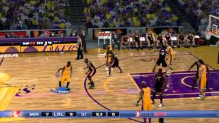[X360] NBA 2K7 - Heat vs Lakers - NBA Finals - 1080p 60fps