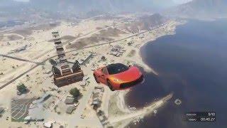 SUPER MEGA JUMP GTA V ONLINE